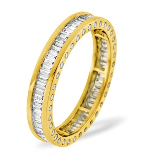 Eternity Ring Skye 18K Gold Diamond 1.00ct G/Vs