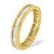 Mens 2ct G/Vs Diamond 18K Gold Full Band Ring  IHG28-422XUA - image 1