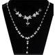 18K White Gold Diamond Necklace 4.73ct - image 2