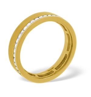 Mens 0.38ct H/Si Diamond 18K Gold Dress Ring
