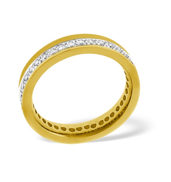 Mens 0.54ct G/Vs Diamond 18K Gold Dress Ring - image 1