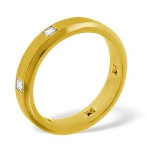 Mens 0.28ct G/Vs Diamond 18K Gold Dress Ring