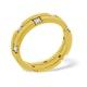 Mens 0.22ct H/Si Diamond 18K Gold Dress Ring  IYD34-44JUA - image 1