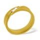 Mens 0.07ct H/Si Diamond 18K Gold Dress Ring - image 1