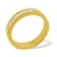Mens 0.22ct H/Si Diamond 18K Gold Dress Ring  Item IYD28-44JUA - image 1