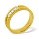 Mens 0.22ct G/Vs Diamond 18K Gold Dress Ring  IYD29-44XUA - image 1