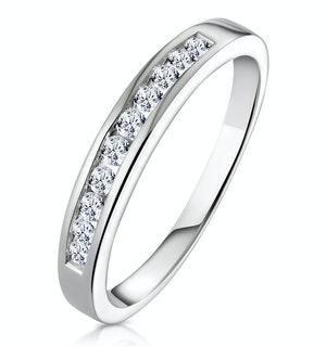 Rae Half Eternity Ring 0.33CT Diamond 9K White Gold