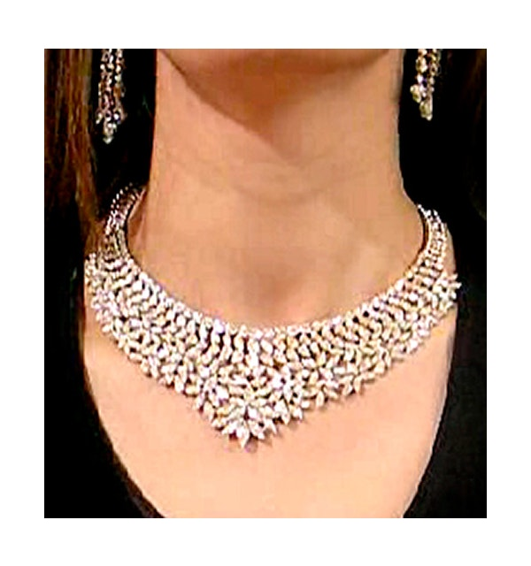 Exclusive Diamond Necklace 57ct 18Kw - image 1