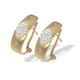 9K White Gold Diamond Detail Earrings (0.20ct) - image 1