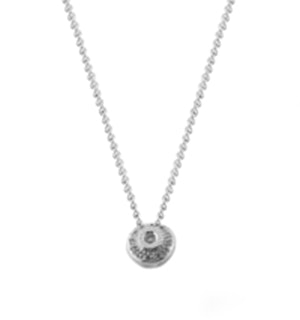 Diamond 0.15ct 18K White Gold Necklace - RTC-D3273