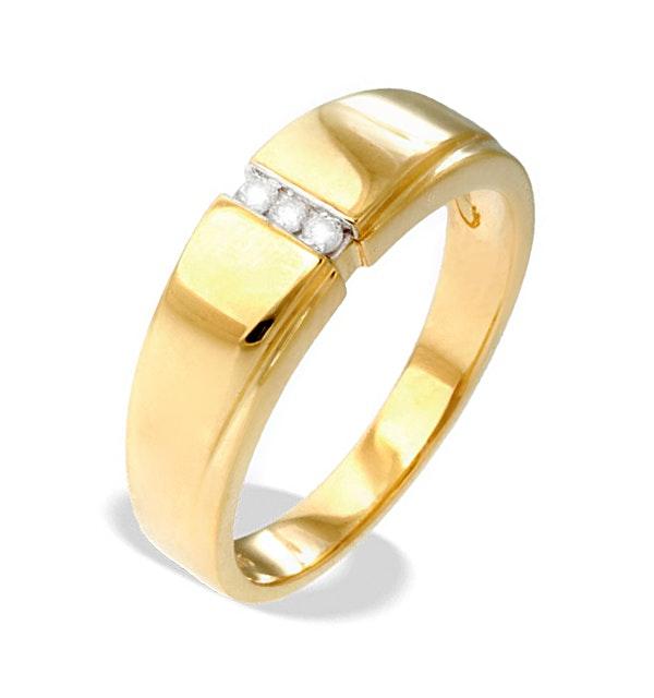 9K Gold Diamond Ring(0.05ct) - image 1