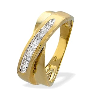 0.35ct Diamond and 9K Gold Ring - RTC-E3103