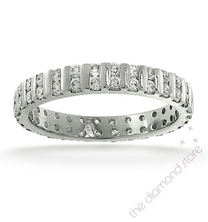 Eternity Ring Ellie Platinum Diamond 1.00ct G/Vs