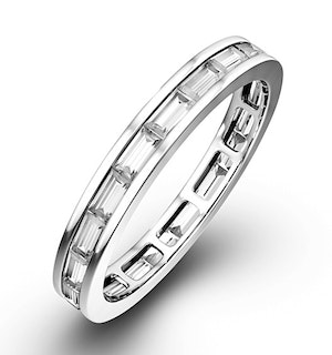 Eternity Ring Lily Platinum Diamond 2.00ct H/Si