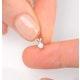 Diamond Solitaire Necklace 0.10CT Diamond 9K Yellow Gold - image 4