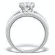 Matching Diamond Engagement and Wedding Ring 1.46ct Platinum - DN3223 - image 2