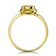 0.15ct Diamond Solitaire Ring in 9K Gold - image 2