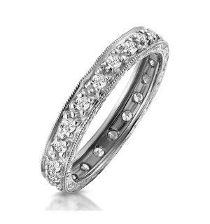 Eternity Ring 0.33CT Diamond 9K White Gold