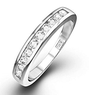 Rae Half Eternity Ring 0.20CT Diamond 9K White Gold