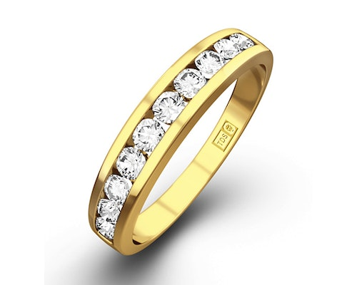 Yellow Diamond Gold Rings