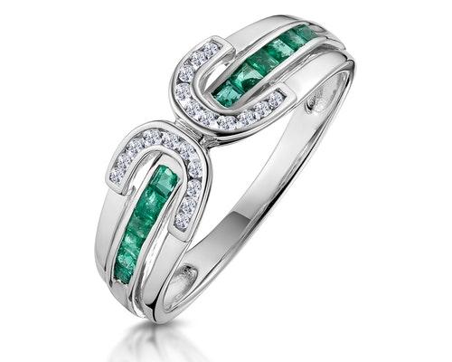emerald eternity rings