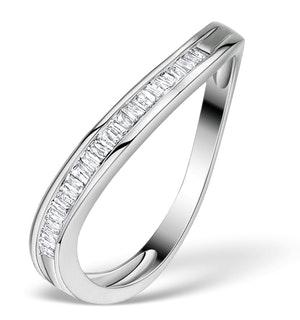 Diamond 0.24ct 9K White Gold Ring - RTC-E4018
