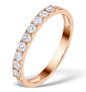 Vivara Collection 0.55ct Diamond and 9K Rose Gold Ring E5938