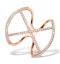 Vivara Collection 0.36ct Diamond and 9K Rose Gold Ring E5943 - image 1