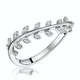 Stellato Collection Diamond Ring 0.05ct in 9K White Gold - image 1