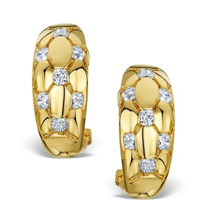 Diamond 0.50ct 18K Gold Earrings - RTC-EG265