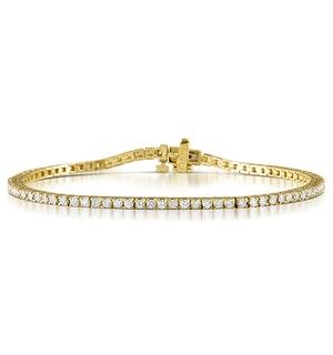 Diamond Tennis Bracelet Chloe 2.00ct Premium Claw Set in 18K Gold