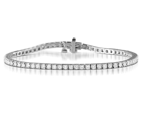 White Gold Diamond Tennis Bracelets
