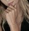 Diamond Tennis Bracelet Rubover Set 3.00ct H/Si in 18K Gold - image 2