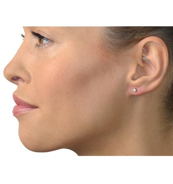 60104cf85 ... Diamond Stud Earrings 3mm 18K Gold - 0.20CT - Premium - image 4 ...