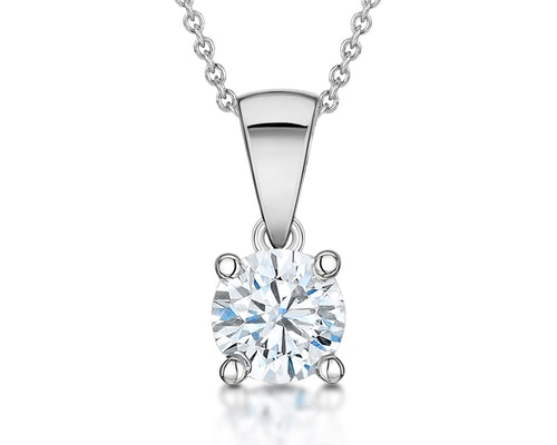 Chloe Diamond Pendant Necklaces
