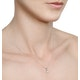Diamond Solitaire Necklace 0.50ct Chloe Certified in Platinum E/VS1 - image 3