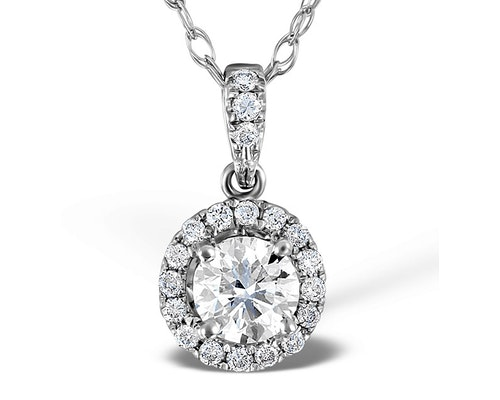 Vintage Diamond Pendants And Necklaces