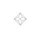 1.40ct Emerald Asteria Collection Diamond Halo Pendant in 18K Gold - image 2