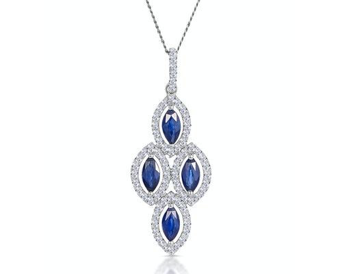 Diamond Chandelier Pendants And Necklaces