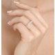 Grace 18K White Gold 5 Stone Diamond Eternity Ring 0.75CT G/VS - image 4
