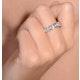 Rae Platinum Diamond Half Band Eternity Ring 1.00CT G/VS - image 4