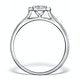 0.25ct Diamond Engagement Ring 18K White Gold Galileo FT65 - image 2