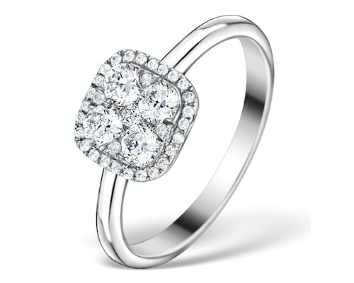 Galileo Halo Engagement Rings