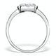 0.70ct Diamond Engagement and 18K White Gold Galileo Ring FT79 - image 2