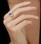 2ct Tanzanite and Diamond Statement Ring 18K Gold - Asteria Collection - image 2