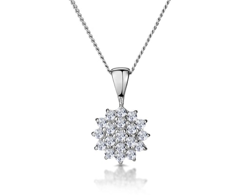 White Gold Diamond Necklaces and Pendants