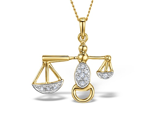 Gold Diamond Lockets