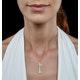 Allura Collection Key Diamond Pendant 0.07ct in 9K Gold - image 2