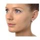Huggy Earrings 0.33ct Diamond 9K White Gold - image 3