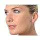 Aquamarine 0.80CT And Diamond 9K Yellow Gold Earrings - image 3